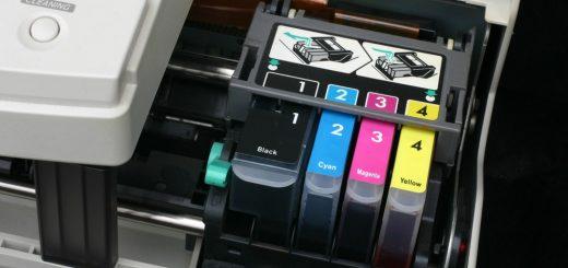 cómo poner cartuchos de tinta