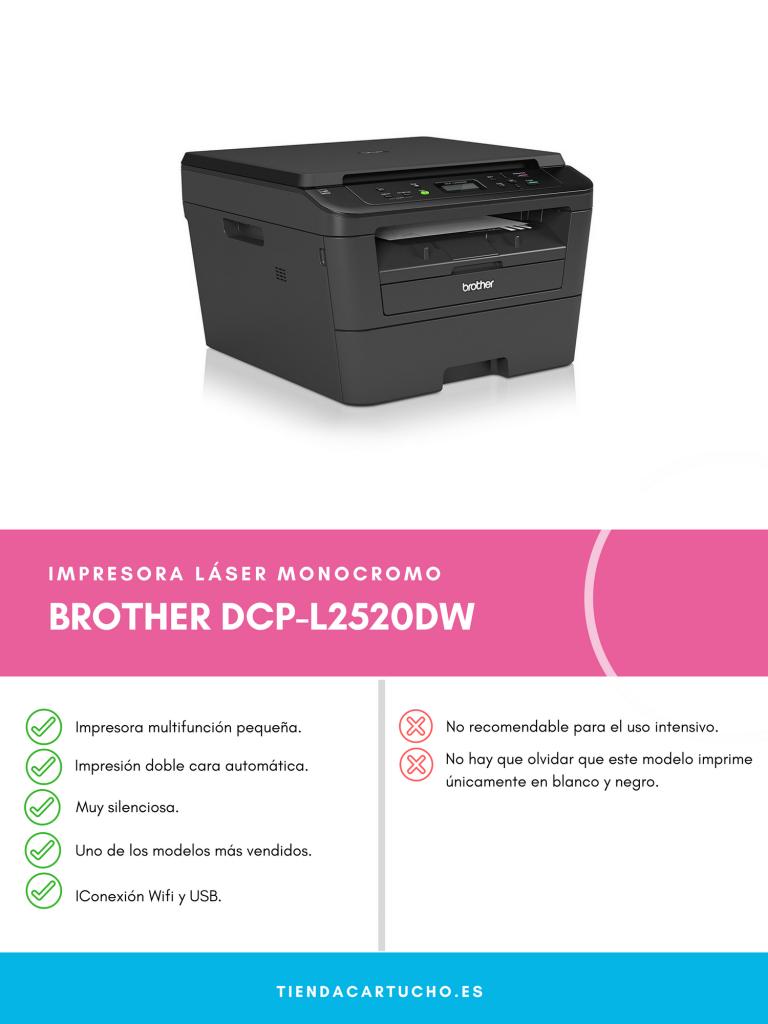Pros y contras de la BROTHER DCP L2520DW