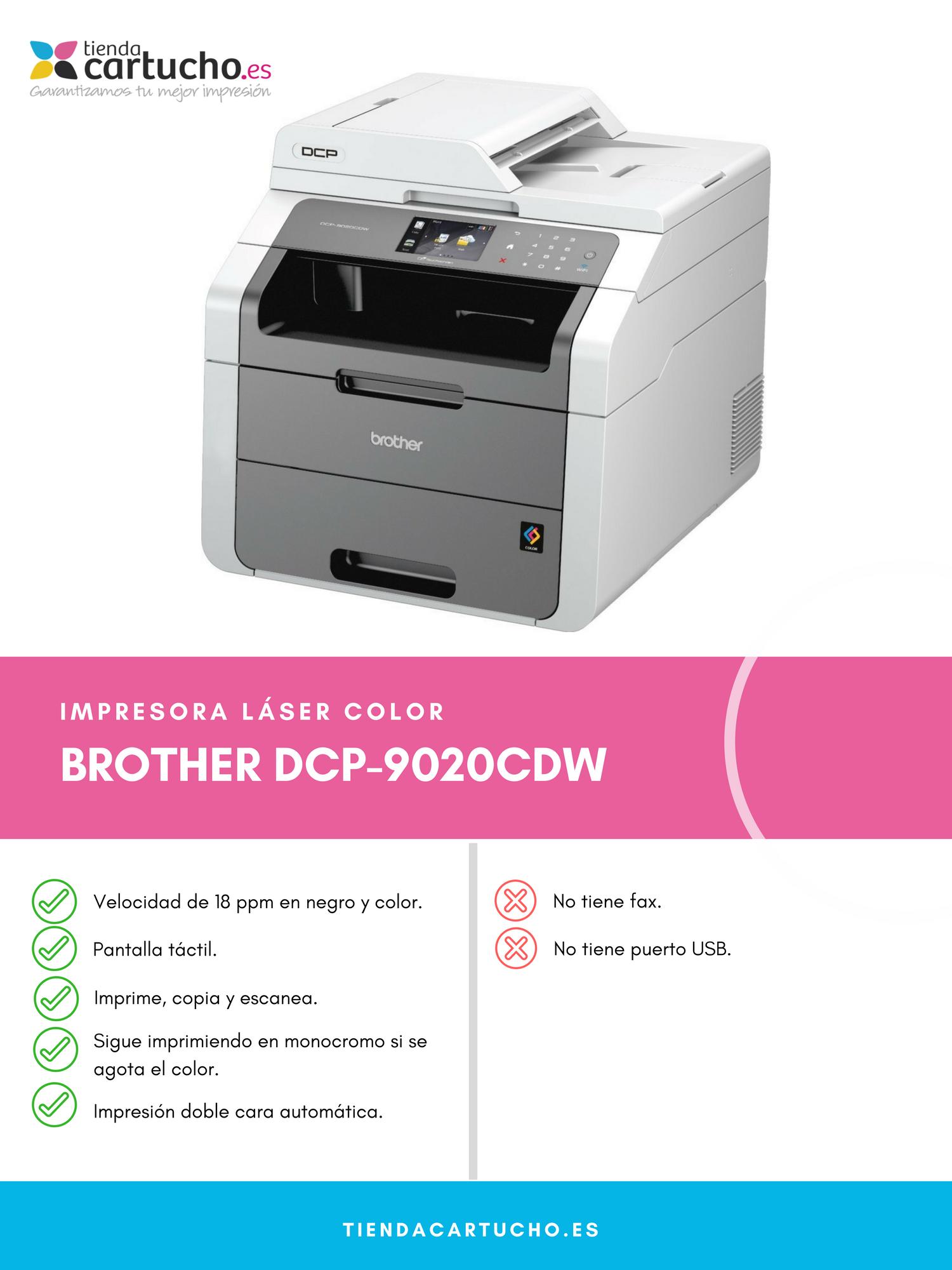Brother DCP-9020CDW | Análisis & Opiniones | Me la Compro?