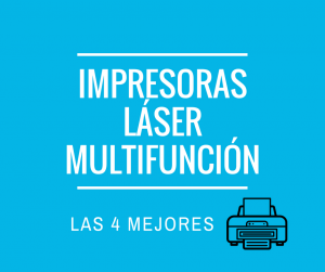 Impresoras láser multifunción
