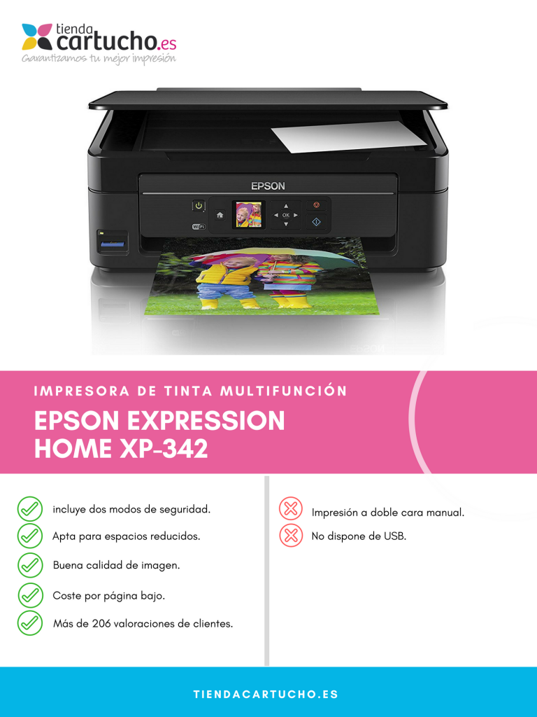 Descubre la Expression Home XP-342