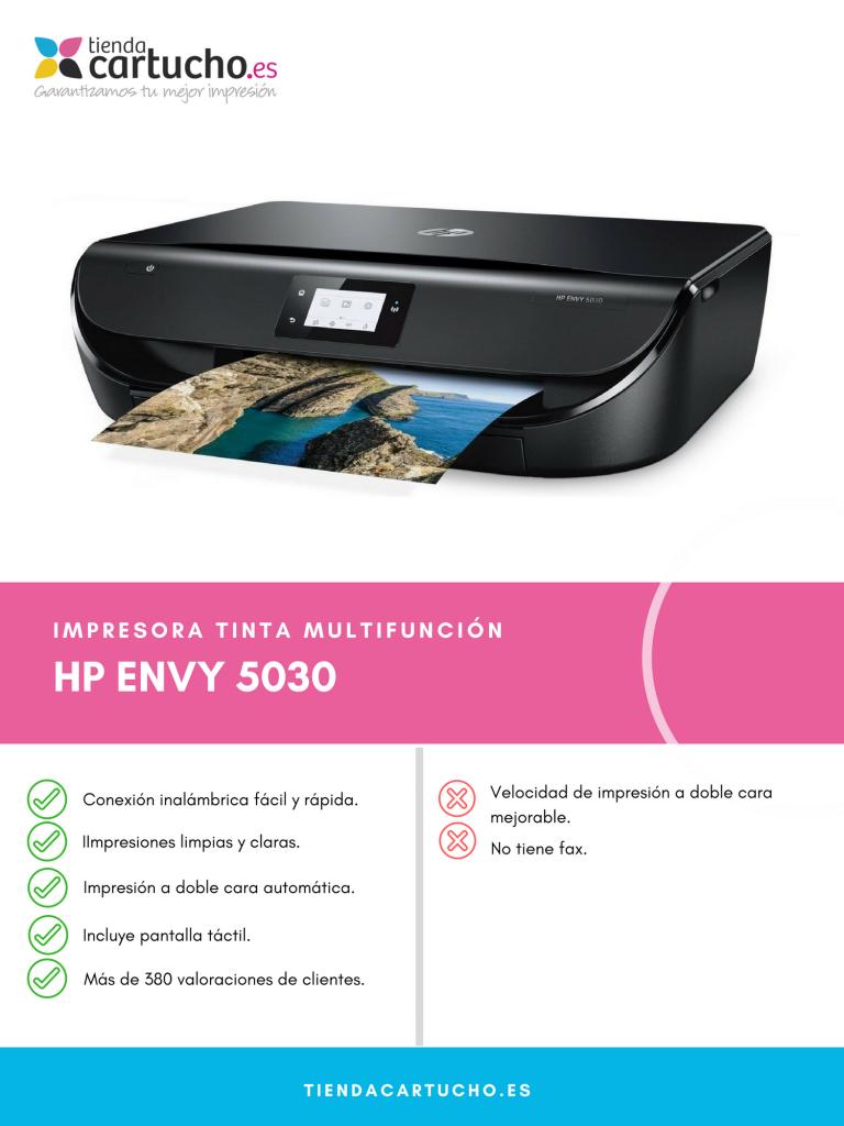 Descubre la HP Envy 5030
