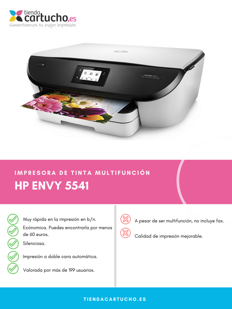 Descubre la HP Envy 5541