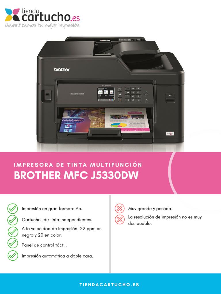Descubre la impresora Brother MFC J5330DW
