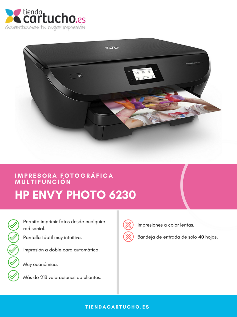 Descubre la HP Envy Photo 6230
