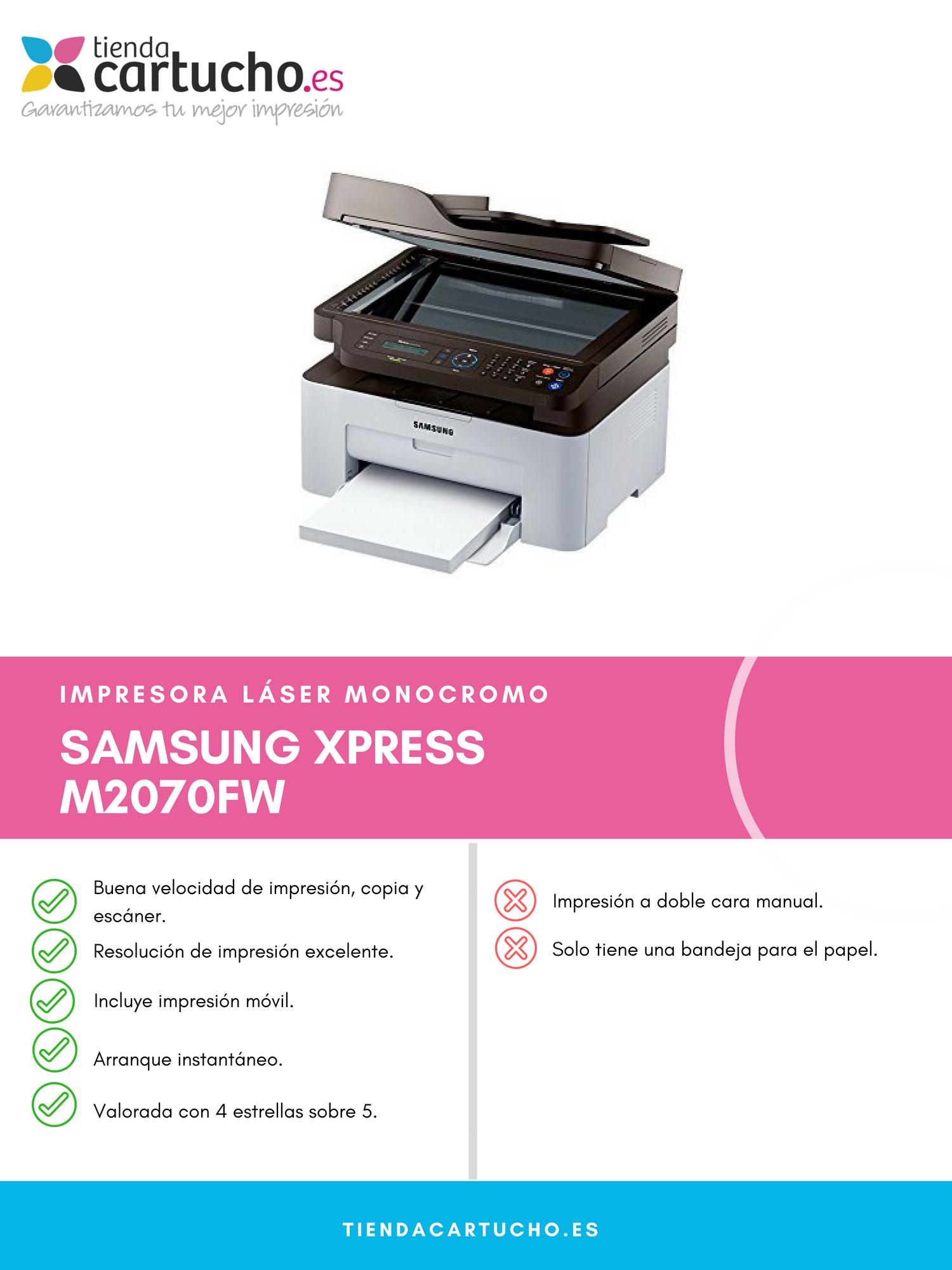 76b44c714b941 ▷ Samsung Xpress M2070FW   Todas las Opiniones!