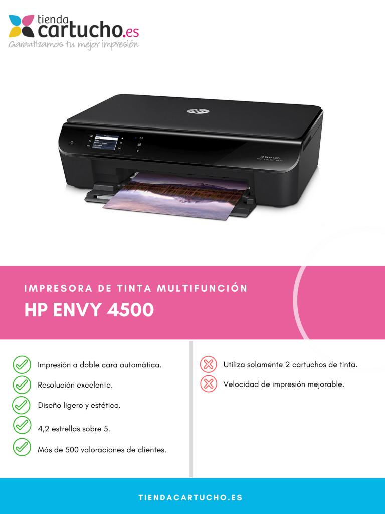 Descubre la HP Envy 4500