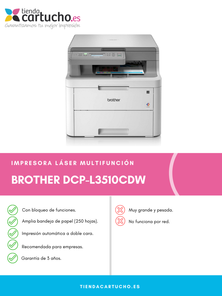 Brother DCP-L3510CDW análisis