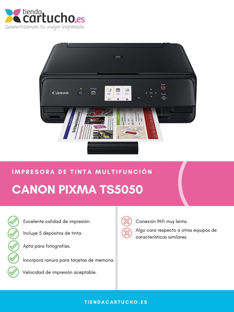 Canon Pixma TS5050 análisis