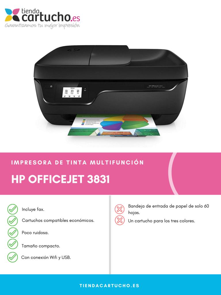 HP OfficeJet 3831 análisis